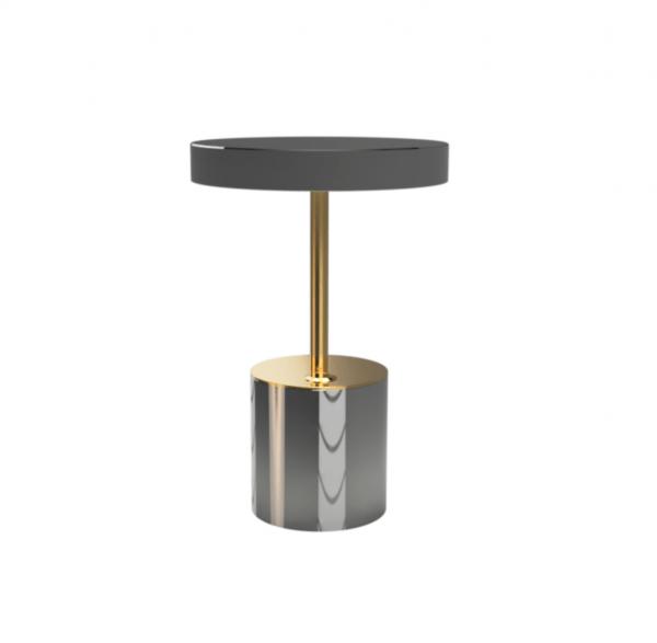 Brass & Chrome Table Lamp IV